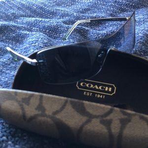 Coach Gwen S317 blue sunglasses w case & cloth